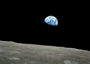 Earthrise. Taken by Apollo 8 astronaut Bill Anders, December 24, 1968